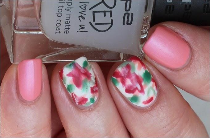 Mottomonat Blütenzauber Nageldesign Nail Art Flowers Spring 04