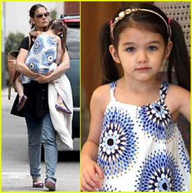 Katie Holmes & Her Daughter Suri Cruise