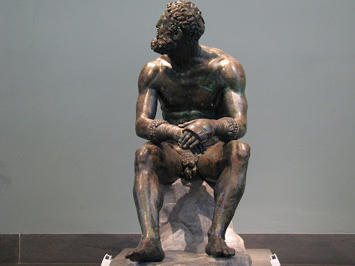 Boxer of Quirinal, Hellenistic Greek, 1st century B.C.