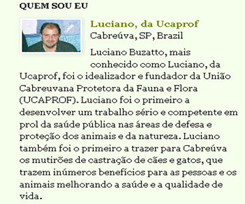BLOGS Luciano, da Ucaprof