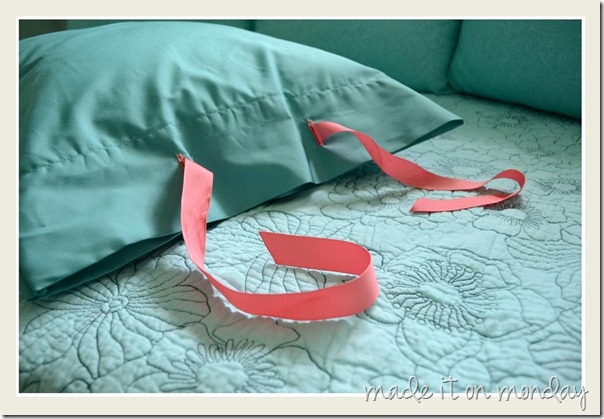 Tied Pillow Case 3