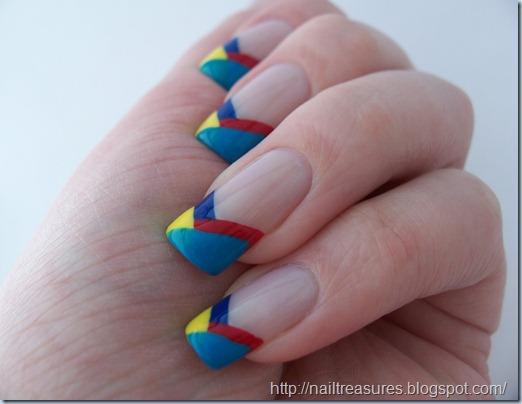 Nail treasures autism awareness gumball nails 1022456 prinsesfo Images