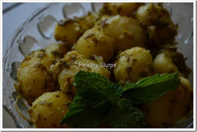 Yummilicious Baby Potatoes