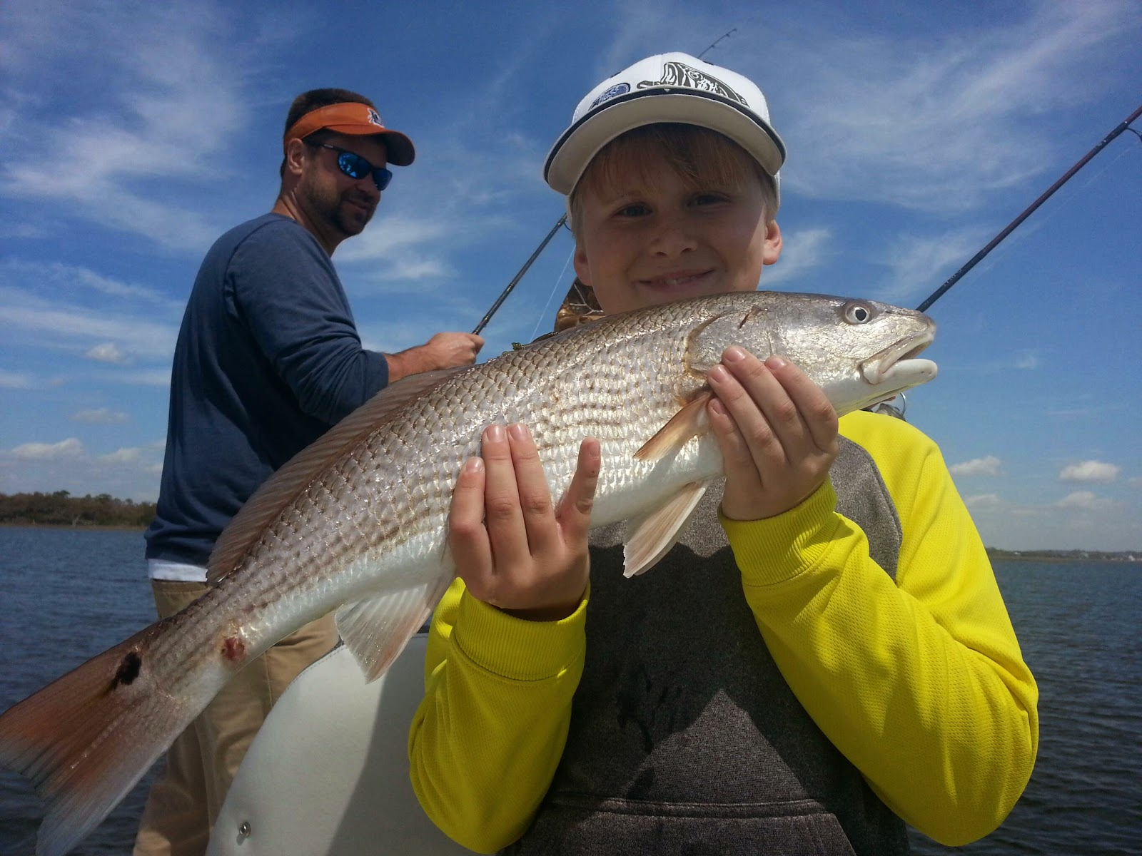 April sightfishing is hot swansboro fishing report capt for Fishing report swansboro nc