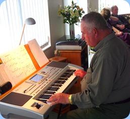 Ken Mahy playing the Korg Pa80