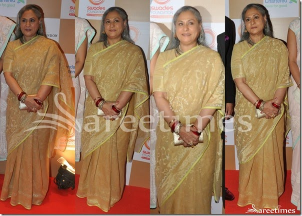 Jaya_Bachchan_Cream_Embellished_Saree