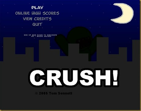 CRUSH! タイトル