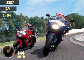 Screenshot of Drag Racing Moto 2014