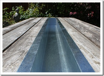 Another Option Is Filling The Trough With Flowers And Plants For A Formal  Event. We Also Purchased A Separate Slat Of The Same Wood To Replace The  Trough ...