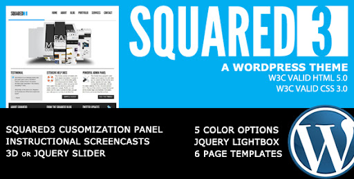 SQUARED3 - WordPress Theme - Business Corporate