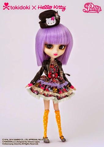 Pullip Violetta Tokidoki x Hello Kitty 02