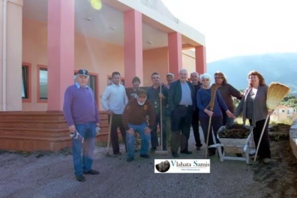 Γηροκομείο Σάμης: Εθελοντές έπιασαν δουλειά