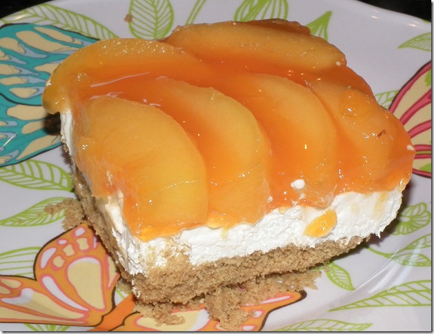 Peaches & Cream Dessert 6-6-11