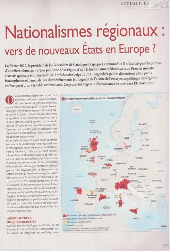 Nationalisme régionaux