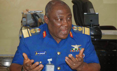 Chief of Defence Staff, Air Chief Marshal Alex Badeh