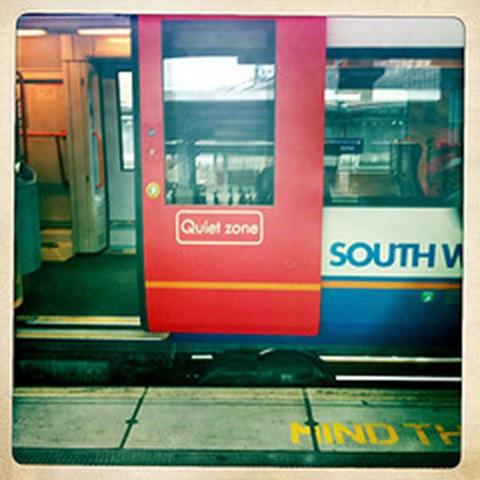 May - a red door