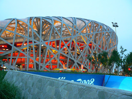 Sights of China: The Olympic Stadium of Beijing