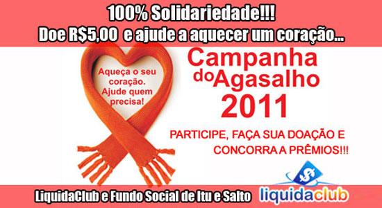 LiquidaClub - Campanha do Agasalho 2011