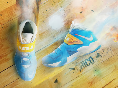 nike zoom soldier 7 pe ty lawson nuggets 1 02 Ty Lawsons SOLDIER 7 Player Edition Denver Nuggets Nike IDs