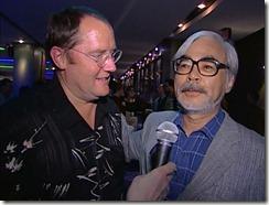 Spirited Away Lasseter and Miyazaki Toronto Premier