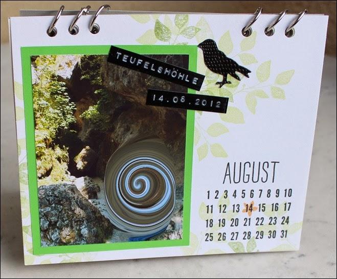 Tischkalender 2015 selbermachen basteln Blanko Vorlage 11