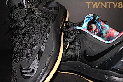nike lebron 11 low gr black hyper crimson 3 07 Detailed Look at the Nike LeBron 11 Low Neutral