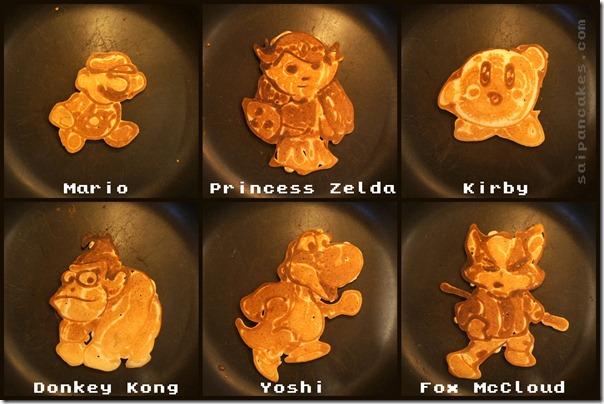 Nintendo Pancakes (2)