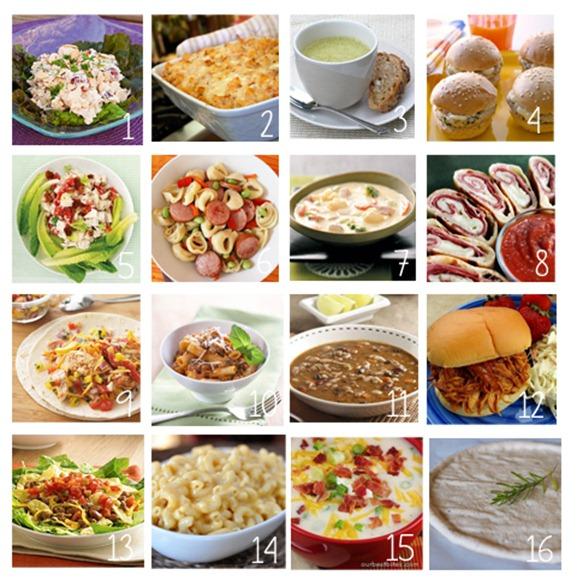 14 dinners