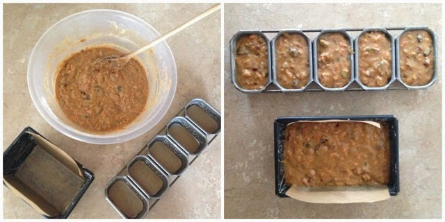 date carrot loaf mix