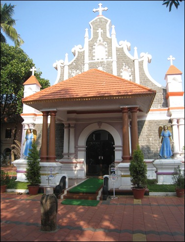 North Parvur  or Kottakavu -Exterior