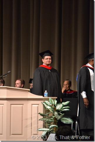 Jason gets diploma