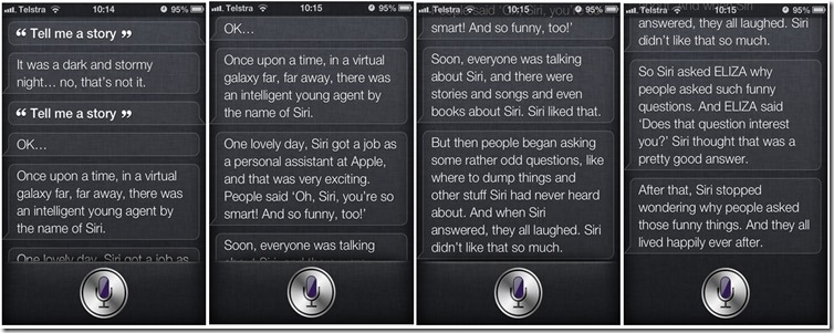 Siri story