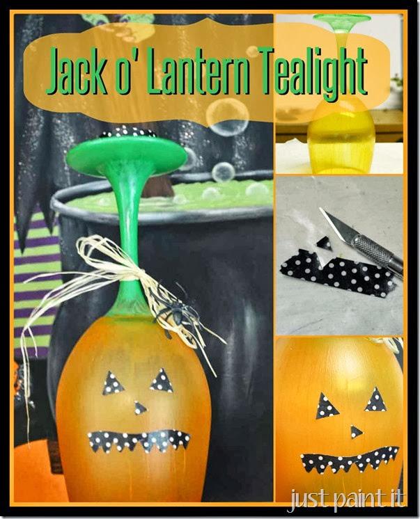 Jack O Lantern Tealight