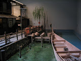 The Fukugawa Edo Museum: a small dock