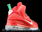 nike lebron 9 gr christmas 4 01 Throwback Thursday: Look Back at LBJs 2011 Christmas Shoes