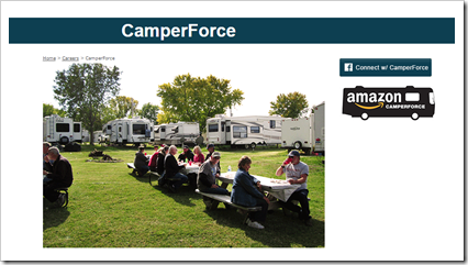 RVing with the Rakis - our plan for 2015 - how we plan to live campsite free for the next year.   Last stop Amazon Camper Force