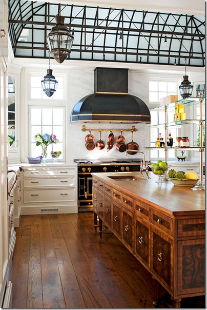 kitchen lanterns