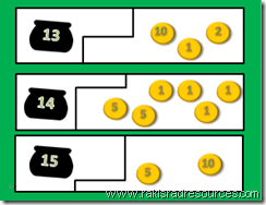 St. Patrick's Day Self Correcting Puzzle - Count the Leprechaun's Money