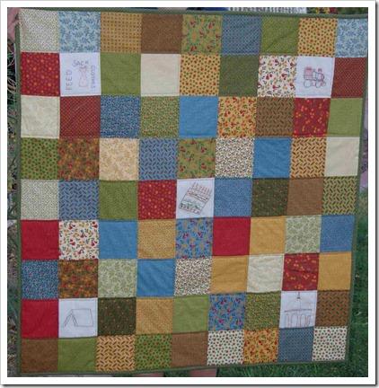 Sierra school quilt