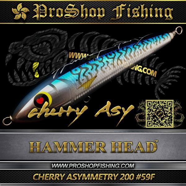 hammerhead CHERRY ASYMMETRY 200 #59F.5