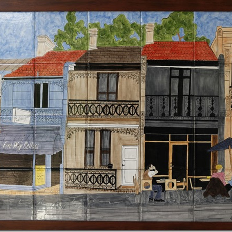 Virginia Arregui - Ceramic Tile Art - The New Version of an Old World Art