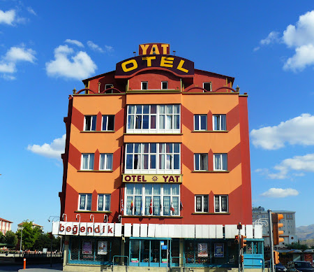 Vacanta Turcia: Kayseri - hotelul yat