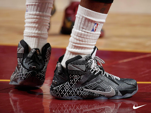 LeBron and Kyrie Debut Their 8220Black History Month8221 Signature Kicks