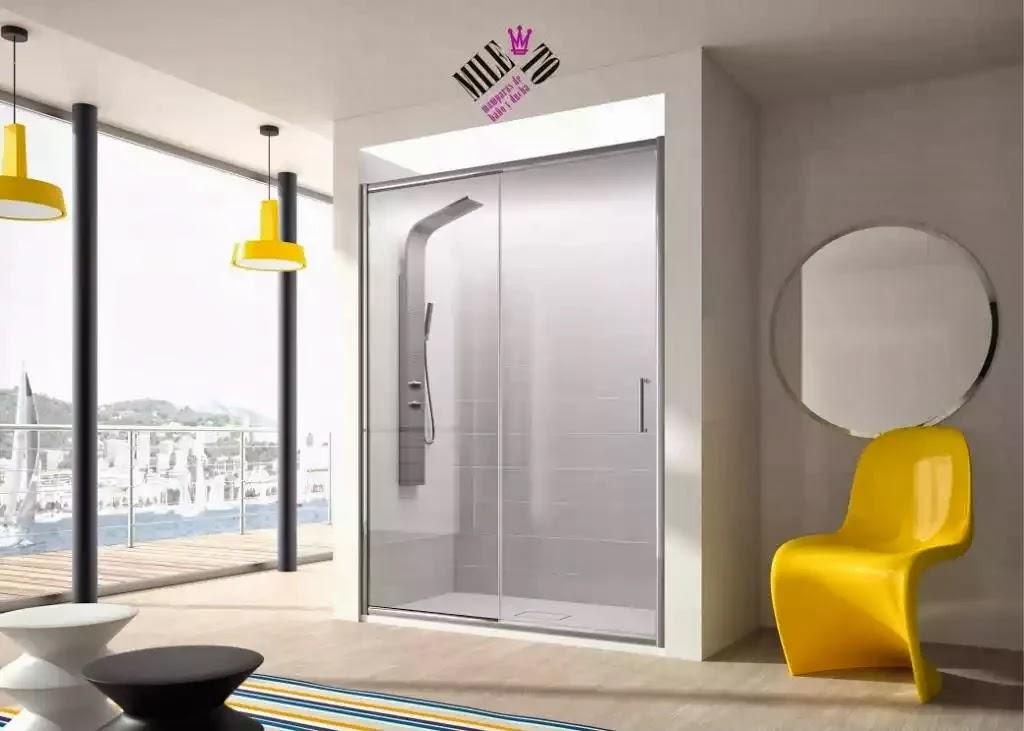Mamparas ofertas com bl102 mampara para ducha frontal for Oferta mampara ducha