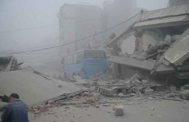 Σεισμός 6.6 Ρίχτερ στην Κίνα (video)