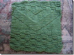 chevron-dishrag knit