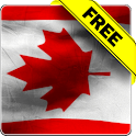 Canada flag free livewallpaper icon