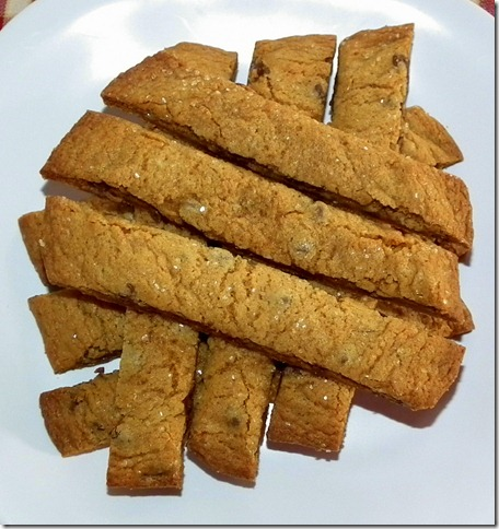 Ginger Chocolate Chip Cookie Sticks (C&H)