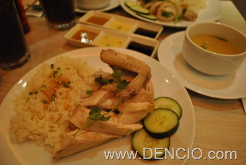 Kenny Roger's Hainanese Chicken2