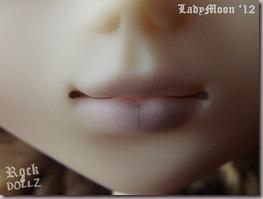 Primer plano de boca de Seila